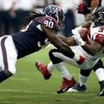 Knox Bardeen Four Downs Falcons suffer 25point smackdown in Houston