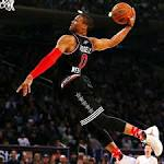NBA All-Star Game: Russell Westbrook named MVP after 41-point performance