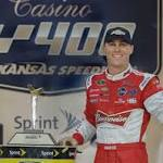 Kevin Harvick Wins Kansas; NASCAR Results