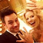 Megan Hilty and Brian Gallagher Get Married in Las Vegas, Show Wedding Rings