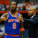 Typical Knicks Bickering, Losing . . . Giving Derek Fisher Huge Coaching ...