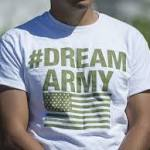 Military program will benefit few of the undocumented