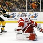 Boston Bruins Overpower Detroit Red Wings To Even Series