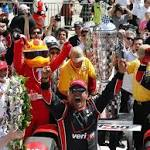 Montoya darts past Power, claims Indy 500