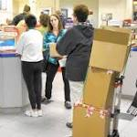 Monday marks busiest day for post office mailings