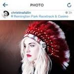 Daughter of Okla. governor defends headdress photo