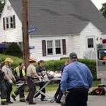 Bus crashes into Mass. house; driver among 7 hurt