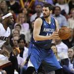 Cleveland gets: Kevin Love from Minnesota