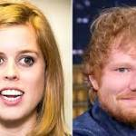 Princess Beatrice 'Thought She Had Disfigured' Ed Sheeran's Face With Sword