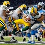 Lions offense pushes the Packers defense further into corner
