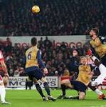 Stoke City 0 Arsenal 0, match report: Gunners go top after hard-fought draw at ...