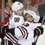 Kane's Late Goal Lifts Blackhawks Over Flames, 4-3