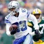 Cowboys ride Tony Romo, Aaron Rodgers fumble to halftime lead