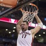 Jonas Valanciunas apologizes for arrest, has career high for Raptors
