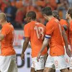 Holland 2-0 Wales: Arjen Robben on song for Dutch but Robin van Persie knock ...