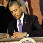 Wielding A Pen And A Phone, Obama Goes It Alone