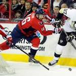 Crosby Guides Penguins past Capitals, NHL Roundup