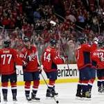 Caps Clinch Presidents' Trophy with NHL's Best Record