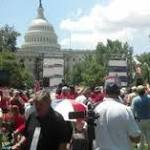 Immigration: Protesters rally against comprehensive reform