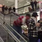 VIDEO: OSU Protester tackled while demonstrating against Pres. elect Trump