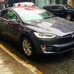 We took the Tesla Model X SUV for a spin in Manhattan — and were blown...