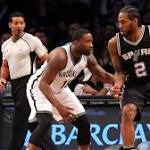 Spurs win 8th straight in Nets' first game since shake-up