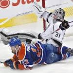 Edmonton Oilers Shut Out By Los Angeles Kings 3-0