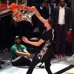 NBA: Timberwolves' Lavine wins dunk contest