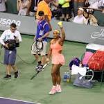 Serena Williams Makes Emotional Return To Indian Wells