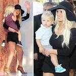 Jessica Simpson Shows Off Her Super-Cute Kids And Spectacular Smile At ...