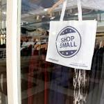 Local shoppers show their support during Small Business Saturday