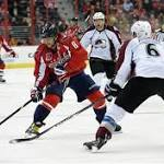 Alex Ovechkin's power-play game-winner leads Capitals against Avalanche