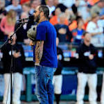 Aaron Lewis apologizes for botching national anthem at World Series