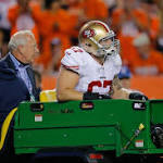 49ers notes: Daniel Kilgore has ankle fracture; Marcus Martin to step in at center?