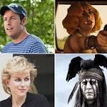 'Grown Ups 2,' Johnny Depp, Lady Gaga, Naomi Watts Up For Razzie Nominations