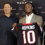 Texans WR Deandre Hopkins Inks Deal With Team