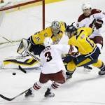 Coyotes shutout, continue to fade from playoff picture