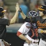 McAllister stumbles, Indians lose 6-4 to Orioles