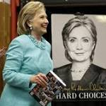 Clinton critic's book bumps Hillary memoir from top of bestseller list