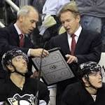 Penguins CEO: Coach Mike Johnston, GM Jim Rutherford are safe