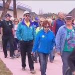 Hundreds march in support of Meals on Wheels