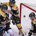 Bruins fall to Blackhawks