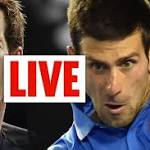 Andy Murray vs Novak Djokovic LIVE: All the action from the Australian Open ...