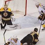Bruins lack a little luster in loss to Predators