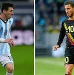 Argentina vs Belgium: live