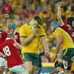 Australia 16 Lions 41