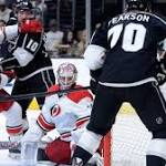 Kings hold off Hurricanes, 3-2