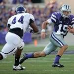 No. 20 Kansas State leads Stephen F. Austin 28-10 at halftime of season opener