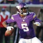 Roundup: Rookie Bridgewater stars, then sprains ankle in Vikings' win