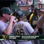 Gray's shutout puts A's in AL Wild Card Game